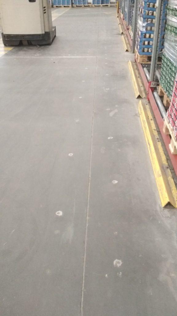 jak wygląda naprawiona posadzka betonowa po iniekcji ciśnieniowej